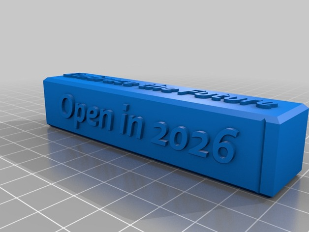 2016 time capsule by icanmakingthings thingiverse. Black Bedroom Furniture Sets. Home Design Ideas