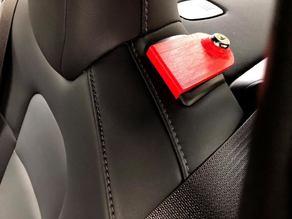Tesla Model 3 Rear Seat Lock