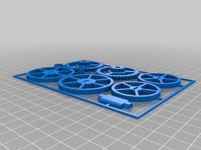 3D Printable Wind Up Car! Remix!!