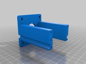 Bubblegum CNC - Proxxon MF70 CNC Conversion Kit with added bracket for NEMA23 Stepper