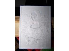 Mona Lisa Lithophane