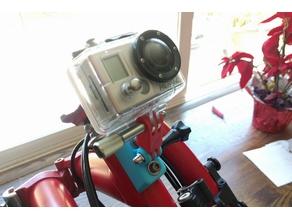 Brompton GoPro mount