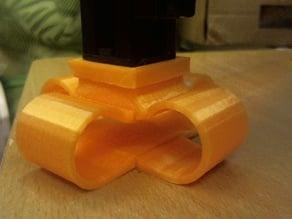vibration damper adapter for hypercube
