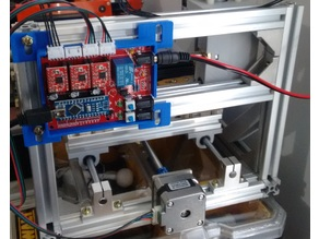 ArduinoCNC Ramps Case   and PCB mount  holders