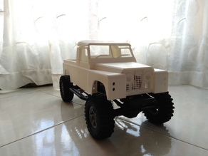 Fully Printable Land Rover Series 2 - for Axial SCX10 and Tamiya CC01