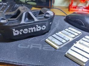 BREMBO 1098 BRAKE MODLE