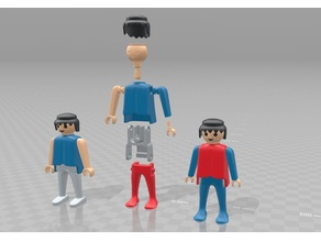 Easy Articulated Playmobil 2.0