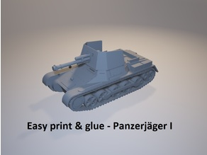 Easy Print & Glue - Panzerjäger I