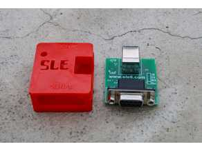 USB to serial converted BOX (local made)