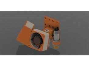 E3D V6 Super Silend Hotend for 2 x 60mm x 25mm Fans