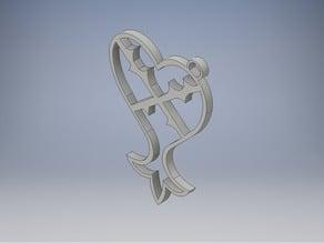 Kingdom Hearts Key-chain -- Model 2