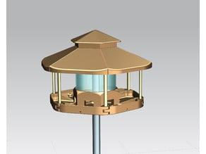 Bird Feeder / Bird House with Chopsticks