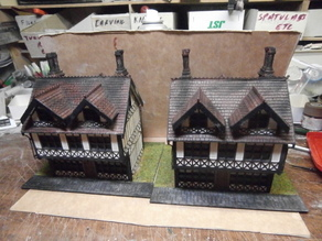 SCALEPRINT TUDOR BUILDING SMALL TAVERN