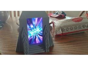 Smart-Phone Magic Portal - Dwarven Style