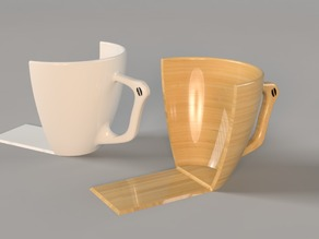 Coffe Cup Bookends