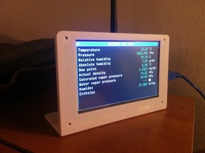 "5"" LCD stand for Arduino projects"