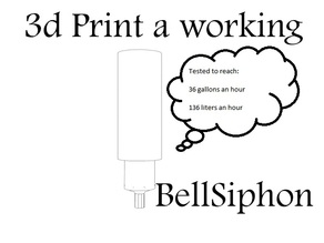 Bell Siphon with Snorkel