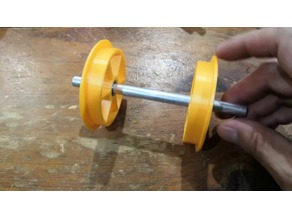 Filament spool bearing with one way clutch 52-57, 72-74mm
