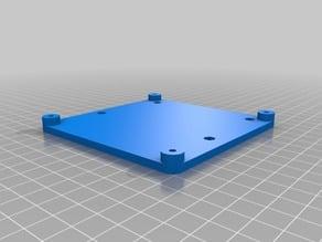 A Simple Makeboard Pro Holder for Prusa P3Steel