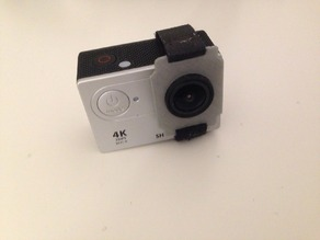 Attached action cam SH400 for gimbals
