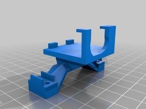 JX 1171MG servo mount for WPL single axle