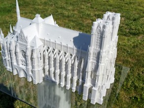 Cathedral Reims - ColorJet Printing