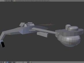 Klingon D7 Class Battlecruiser