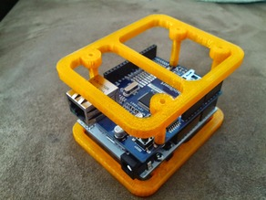 Ardunio Uno w/ Ethernet Shield  - Case