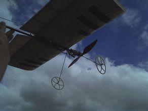 Ultralight RC plane wheel