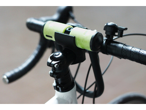 Bicycle U-lock stand/mount