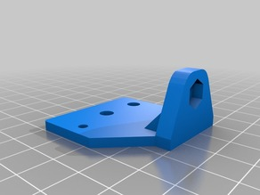 Adjustable Z End Stop with X-Axis Idler Mount