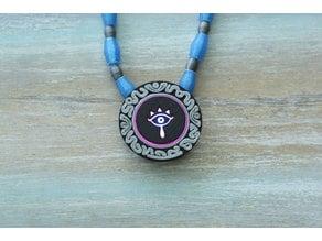 Sheikah Pendant – NeoPixel Jewelry with GEMMA M0