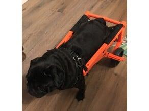 Pug Wheels (Dog Wheelchairs) Version 2