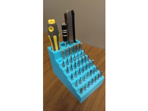 Precision Screwdriver bit holder