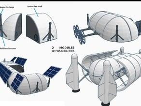 Multifunctional Martian Modules