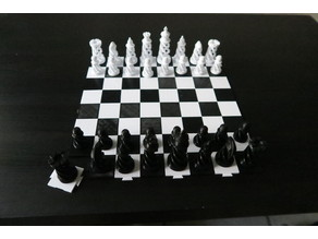 Simple Chess Board - Easy to print