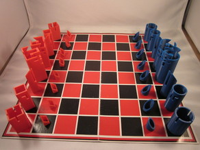 Charles 'O Perry Inspired Chess Set