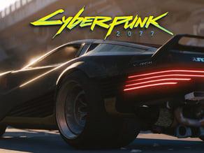Cyberpunk 2077 Car - V-Tech Quadra