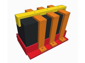 12 Volt SLA Battery Holder UPS Type