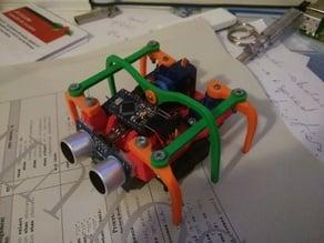 micro hexapod legs