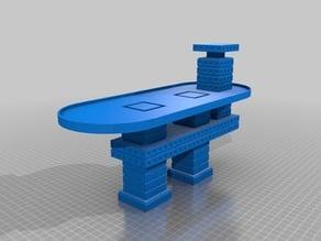 Adeptus Titanicus - Radok Line Spaceport Landing Plattform 1