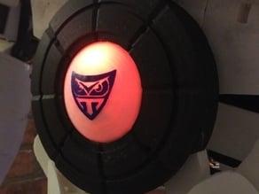 Inmoov logo set ( dome & circle ) - pixelring torso