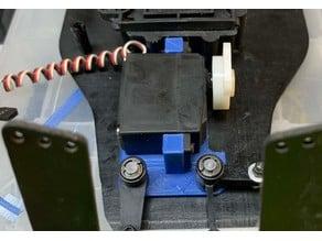Team Losi JRX-2 Jrx-Pro, JRX-t  No drill servo mount