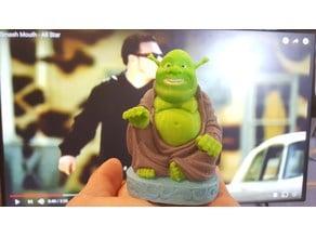 Multicolor Buddha Shrek