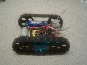 Basic R/C Rubber Tread Tank