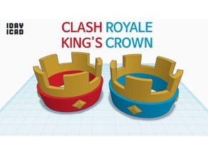 [1DAY_1CAD] CLASH ROYALE KING'S CROWN