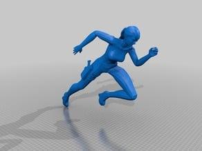 Metroid Other M - Samus Running Pose