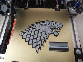 GoT - House Stark direwolf (multi-color)
