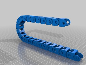 My Customized Fully Parametric Cable Chain