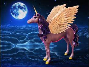 Majestic Alicorn (Flying Unicorn)